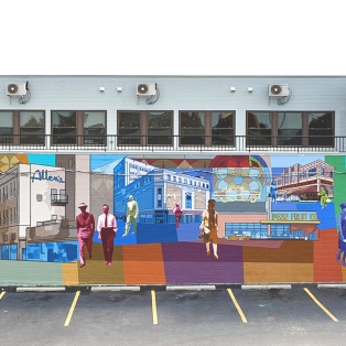 History, commerce, community: a short retrospective on Germantown