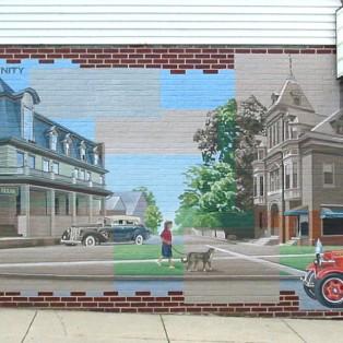 Abbottstown Mural