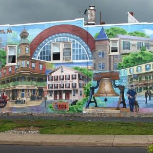 Quakertown mural