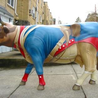 Revolutionary War Cow